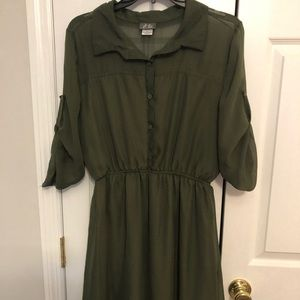 Army Green Dress!